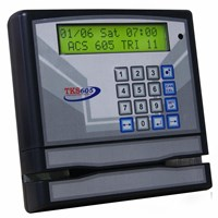 TIME ATTENDANCE & ACCESS CONTROL TKS 605 BARCODE .