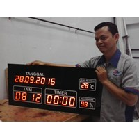 Jual Timer danTemperatur Display 2