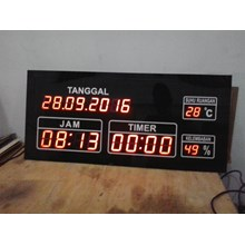 DanTemperatur timer Display