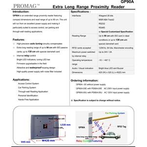 Extra Long range RFID Reader GP 90A