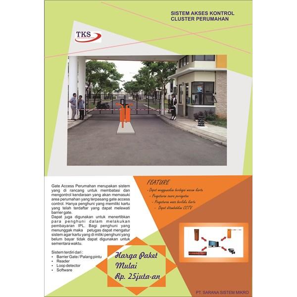 RFID Access Control Gerbang Perumahan