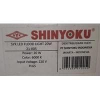 Distributor Shinyoku Lampu Sorot Led / Lampu Tembak Led 20 Watt 3