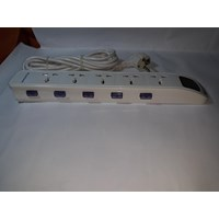Distributor Power Star Stop Kontak Universal 5 Lubang 5 Saklar - Dbw105 3