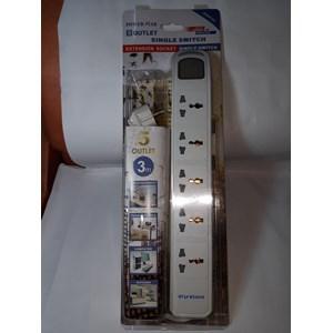 Power Star Stop Kontak Universal 5 Lubang 5 Saklar - Dbw105