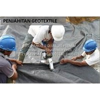 Distributor WOVEN GEOTEKSTIL - GEOTEXTILE POLYPROPYLENE LOW STRENGTH 3