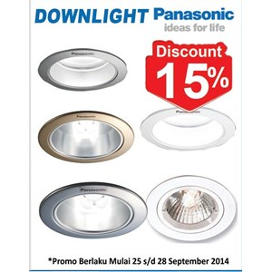 Lampu Downlight Panasonic