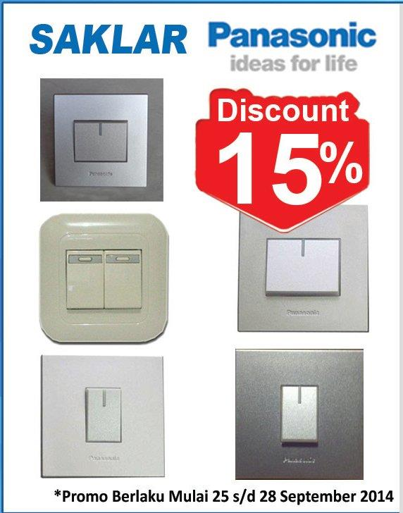 Sell Switch Panasonic From Indonesia By Pt Megamas Plaza