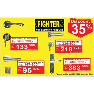 Lock Pintu Fighter