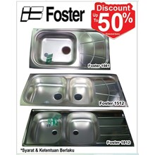 Wastafel Foster