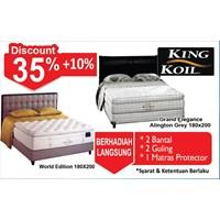 Tempat Tidur King Koil 1