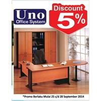 Meja Kantor Uno Office System 1