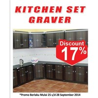 Jual Kitchen Set Graver