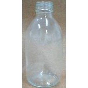 Bottle Threaded Pp 28 Without Cap (Clear Glass)