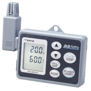 Datalogger Temperature Measurement Merk Sato