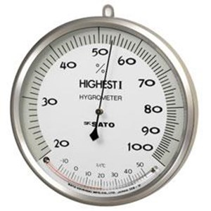 Hair Hygrometer With Thermometer Highest I