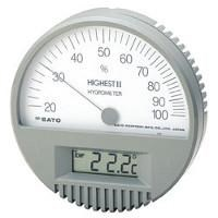Hair Hygrometer With Digital Thermometer Highest II 1