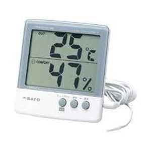 Digital Thermohygrometer Model PC-5000TRH