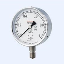 All stainless steel pressure gauge yamamoto