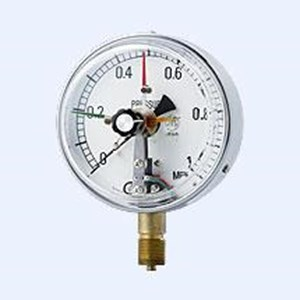 Pressure gauge with electric contacts merk yamamoto