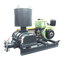 Aerator Driven By Diesel Engine