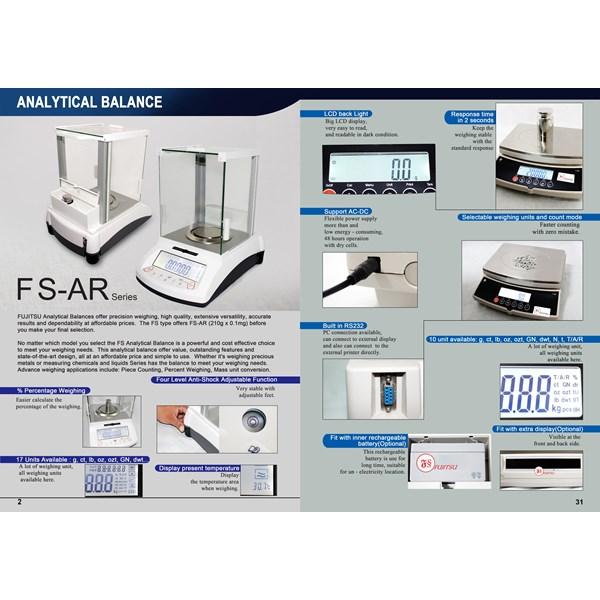 Timbangan Analitik Fujitsu FSR A