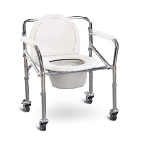 COMMODE CHAIR FS696+CASTOR GEA