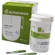 AUTOCHECK URIC ACID-TEST STRIP '25 PCS