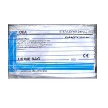 URINE BAG SCB-02 GEA PUSH PULL