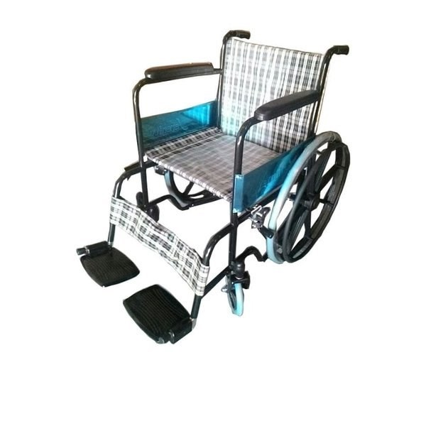 WHEEL CHAIR  FS 809 B ( STEEL)  SERENITY