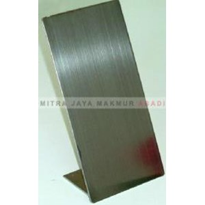 Plat Stainless Steel Hairline
