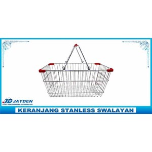 Keranjang Stanless Swalayan Jayden