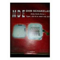 COS OHM Schaklar 63 A MDE .