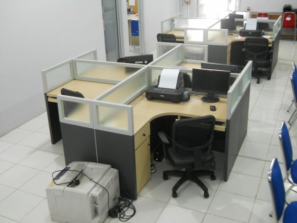 Jual Meja Sekat Kantor Cubicle Table Harga Murah Semarang ...