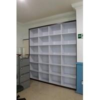 Produksi Rak Arsip Dokumen Kantor Tanpa Pintu + Furniture Semarang By Kembangdjati Furniture Semarang