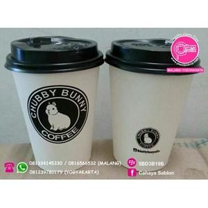 Sablon Paper Cup Hot & Cold