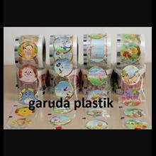 Plastik lid Cup Bergambar