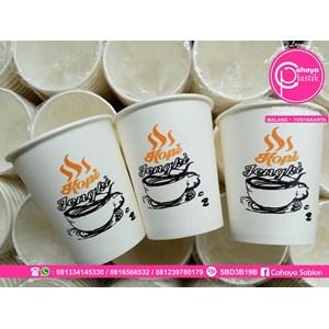Sablon Paper Cup 2 Warna
