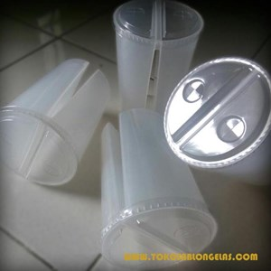 Gelas Plastik ( Twin Glass)