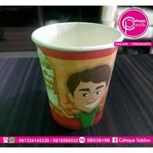 Paper Cup Motif Jagung
