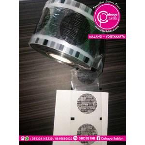 Sablon Plastik Sealer 1 warna