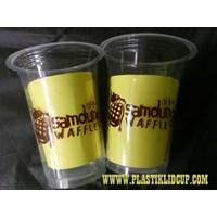 Sablon Gelas Plastik 14 oz 6 gram 1