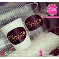 Sablon Paper Cup dan Gelas Plastik 2 warna  1