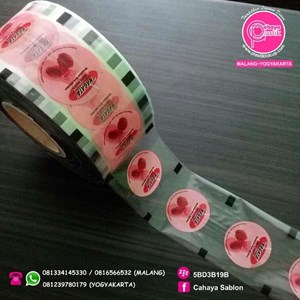 Sablon Plastik Sealer 13 cm