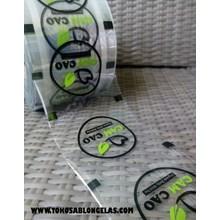 Sablon Plastik Lid Sealer 2 warna