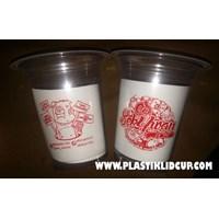 Sablon Gelas Plastik 12 oz 6 gram 1
