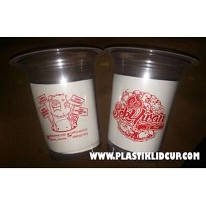 Sablon Gelas Plastik 12 oz 6 gram