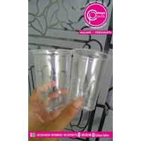Gelas Plastik 240 ml ( Cup air mineral) 1