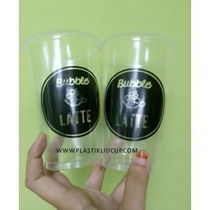Gelas Plastik Bubble