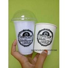 Sablon Paper cup 9 oz & gelas plastik 14 oz