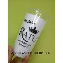 Gelas Plastik 22 oz ( Cup Jus )